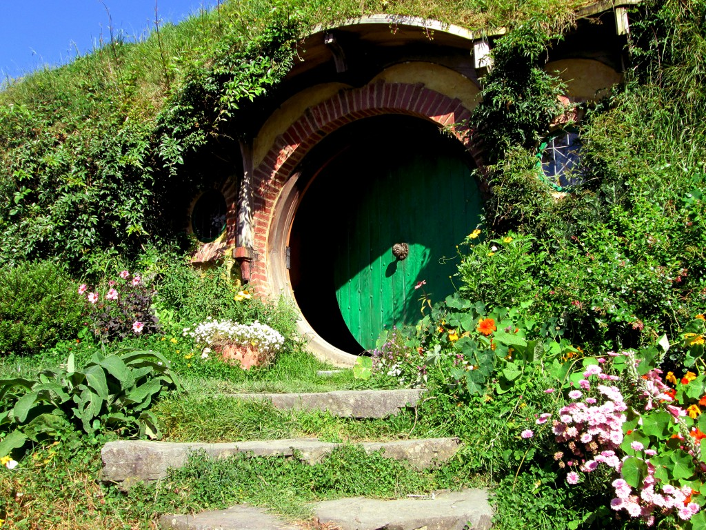 Hobbiton é onde fica Bag End, toca do Bilbo!