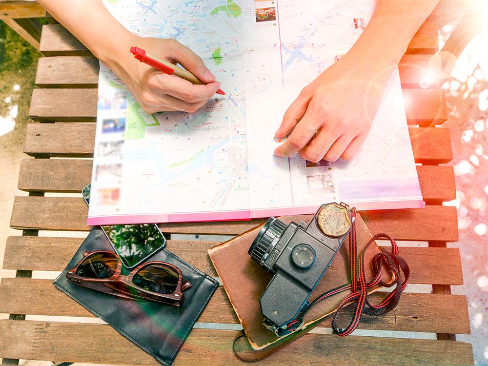 Descubra nesse post como montar um roteiro de viagem