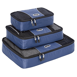 O que levar na mala - Packing Cubes