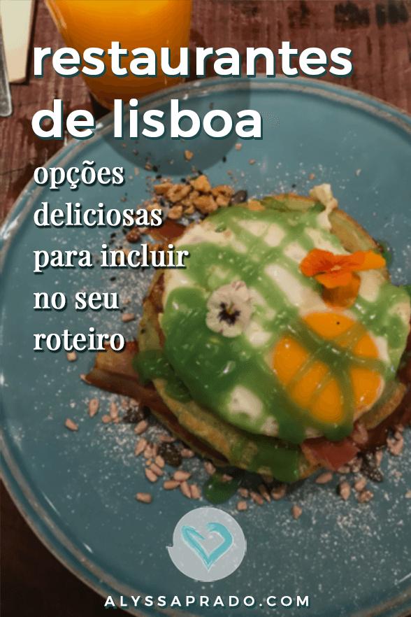Descubra os melhores restaurantes em Lisboa para incluir no seu roteiro pela cidade! #lisboa #portugal #europa #viagem #gastronomia