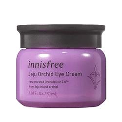 O Jeju Orchid Eye Cream é um dos melhores cremes coreanos para os olhos do mercado!