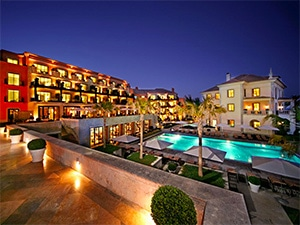 O Grande Real Villa é uma ótima opção para quem procura luxo perto da praia em Lisboa.