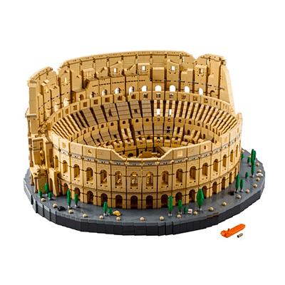 O Coliseu é um dos maiores kits de lego do mundo, com mais de 9000 peças!