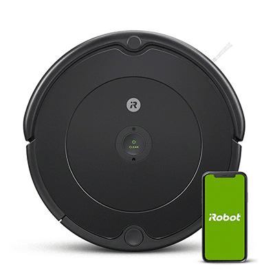 O iRobot Roomba é o robô aspirador mais famoso atualmente. Ele limpa sua casa de maneira automática, e você pode controlá-lo por um aplicativo.